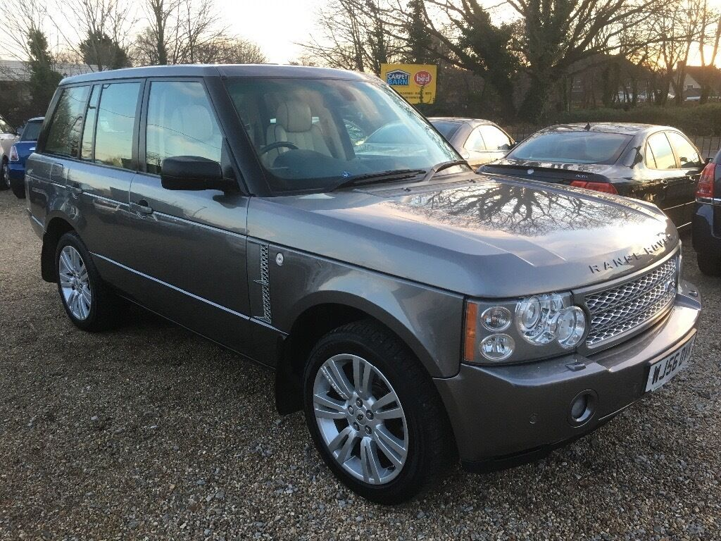 2006 land rover range rover vogue 3 6 tdv8 td v8 grey part. Black Bedroom Furniture Sets. Home Design Ideas
