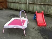Outdoor Children's toys.