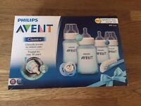 Philips Avent Baby Bottle New Born Starter set