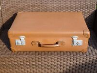 "Vintage brown ""Globe Trotter"", suitcase. REDUCED"