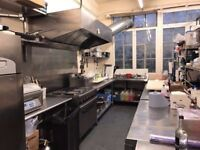 Commercial Kitchen to rent and hire in Battersea SW8