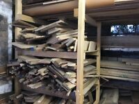 Hardwood offcuts