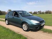 2002 FORD FOCUS 1.6 AUTOMATIC ONE YEARS MOT