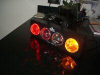 Chauvet Flashing Disco Lights.