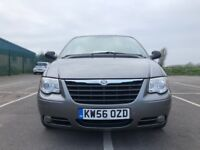 Chrysler Grand Voyager 2.8 CRD LX 5dr£3,295 p/x 7 seater rear seats fold away 2007, MPV 84,000 miles