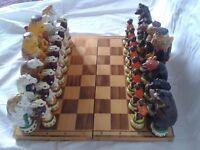 Reynard the Fox Chess Set