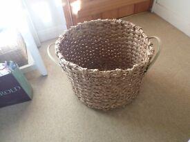 large water hyacinth storage basket from next