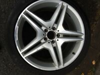 """Alloy and tyres 20"""" diamond cut"""