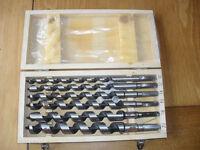 woodwork auger bits set of 6