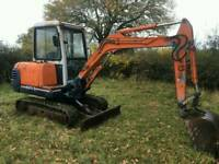 KUBOTA KX71-2X 3 TON MINI DIGGER GOOD TRACKS TWO BUCKETS EXCAVATOR 2007