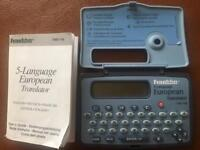 Translator console European translator, with manual and in good working order