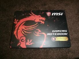 "MSI GV62 7RC Intel Core i5 1TB Hard drive 8Gb RAM 15.6"" FHD Gaming Laptop (NEW)"