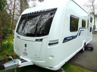 June 2016 Coachman Vision 580 5 Berth Touring Caravan