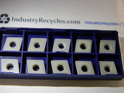 Stellram Cnga120412 E040 Sa8204 Ceramic Inserts, Qty 10