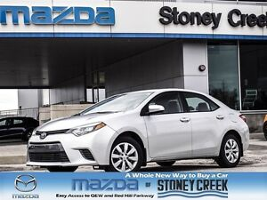 2015 Toyota Corolla LE Bluetooth, Rear Camera, Heated seats!