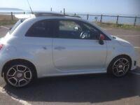 Fiat 500 Abath, Pearle white