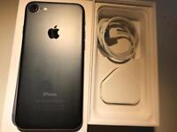 IPhone 7 black 32gb ( unlocked) any network