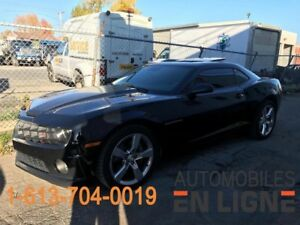 2010 CHEVROLET CAMARO 2SS **CONDITION IMPECCABLE**