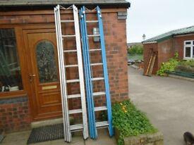 triple trade ladder reach 6.2 m