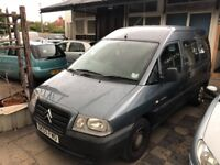 55PLATE PEUGEOT DISPATCH WHEELCHAIR ACCESS CAR * 25,000 MILES ONLY