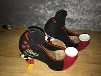 Mickey Mouse irregular choice heels size 5 price drop must go