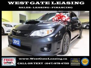 2012 Subaru Impreza WRX TURBO | MANUAL |  CERTIFIED |