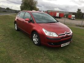 55 REG CITROEN C4 1.6i 16V SX 5DR-12 MONTHS MOT-2 KEYS-JUST SERVICED-GREAT CAR READY TO DRIVE AWAY