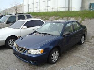 2001 Toyota Corolla CE ~ AS-IS ~