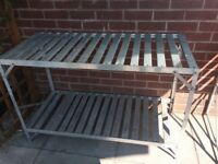 Greenhouse staging / rack/ shelving for sale
