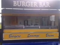 Burger Van Trailer