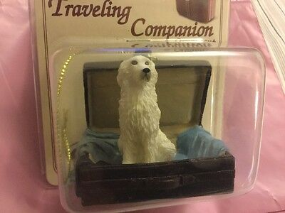 Great Pyrenees Traveling Companion Ornament ~TRD75 CON, New in package