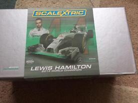 Scalextric Lewis Hamilton limited Edition, NEW