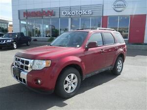 2010 Ford Escape Limited 4X4 Sunroof Leather