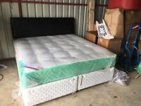 6ft divan bed and headboard free delivery