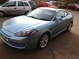 57 PLATE HYUNDAI COUPE 2.0S MK3 55000MILES £2975
