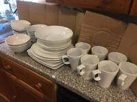 Plates and bowls cups