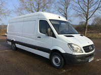 MERCEDES SPRINTER 313 CDI 2007 - LONG WHEEL BASE - 6 SPEED - DRIVES ABSOLUTELY FAULTLESSLY - NO VAT
