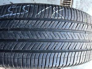 TWO 85% NEW GOODYEAR P225/55R18 97H