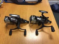 2 x Daiwa Tournament Linear-Reel 2 x used 5000 fishing reel