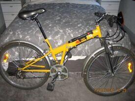 urbanite folsing bicycle