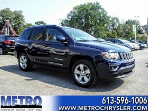 2016 Jeep Compass High Altitude**LEATHER, SUNROOF LOW KM**