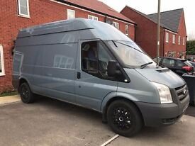 FORD TRANSIT 115 T350 LWB HIGH ROOF 60 PLATE SOLD