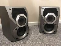 panasonic speakers 20 WATTS with subs