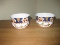 2 x vintage Royal Albion china bowls