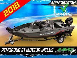2018 Legend Boats Bateau 16 XTR's Mercury 40 Ponton Pêche **Prem