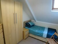 Quiet Single Attic Room in Immaculate Professional Houseshare Inc Most Bills