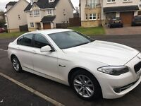 BMW 520 D 2011. White in excellent condition .