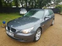 BMW 520D touring estate fsh diesel manual mot cheap car Kent bargain