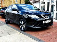 NISSAN QASHQAI 1.6 DCI 360 CONNECT AUTOMATIC 5DR HATCHBACK 1 OWNER FSH HPI CLEAR EXCELLENT CONDITION