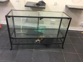 GLASS DISPLAY UNIT.FREE LOCAL DELIVERY